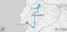 Basic Ecuador - 4**** Hotel - 8 Days - 13 destinations