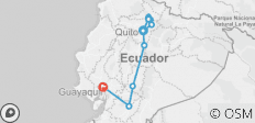 Basic Ecuador - 3*** Hotel - 8 Days - 11 destinations