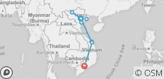 Twelve Day Highlight Vietnam from North Down To South - 10 destinations