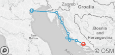 Cruising Croatia\'s Northern Coast and Islands: Venice to Split - 9 destinations