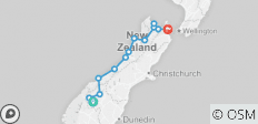 NZ Explorer - 13 destinations