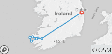 The Kingdom of Kerry 4 day - multi-day - Small Group Tour of Ireland - 8 destinations