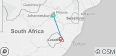 7 Day Roof of Africa, Drakensberg and Lesotho Explorer  - 3 destinations