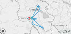 Symbols of Armenia - 17 destinations
