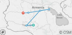 The face of Armenia - 6 destinations