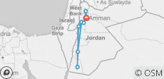 6 Days Jordan Jewels (Daily Breakfast & Dinner) - 8 destinations