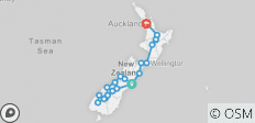 Kiwiana Panorama (from Christchurch to Auckland) - 21 destinations