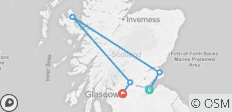 Scotland (Winter, 6 Days) - 5 destinations