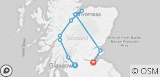 2019 Taste of Scotland - 5 days/4 Nights - 9 destinations