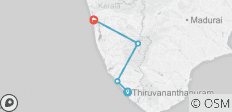 Cycle Kerala - 4 destinations