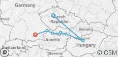 Prague & Danube Explorer - 8 destinations