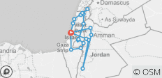 Highlights of Israel & Jordan - 11 days - 22 destinations