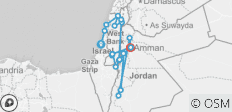 Israel and Jordan with Dead Sea (2018-19, 15 Days) - 20 destinations