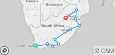 Hiking South Africa - 15 destinations