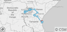 East Africa Overland - 16 destinations