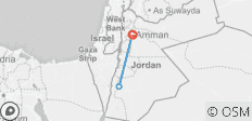 Jordan Nabatean 4 day tour - 3 destinations