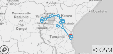 Ultimate East Africa - 21 destinations