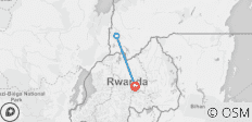 GORILLA TREK INDEPENDENT ADVENTURE (including Kigali) - 3 destinations
