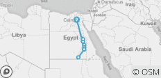 Cairo & Ancient Egypt River Cruise 2019/2020 - 12 destinations