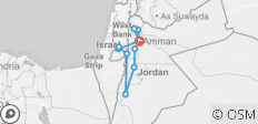 The Holy Land Tour - 12 destinations