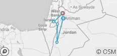 The Holy Land Tour - 7 destinations