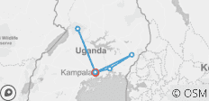 Uganda Community Voluntour & Wildlife Adventure 14D/13N - 6 destinations