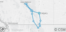 Glacier National Park & the Canadian Rockies with the Calgary Stampede 2019 (13 destinations) - 13 destinations