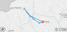 Parisian Royal Holiday (Paris to Paris, 2019) - 7 destinations