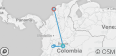 Best of Colombia & The Coffee Triangle - 8 destinations