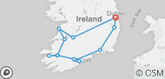 Treasures of Ireland End Dublin 2020 - 13 destinations