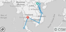 Interesting Vietnam and Thailand 15days/14nights - 9 destinations