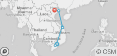 Vietnam 10 day south to north package - 7 destinations