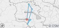Armenia-Yerevan - 7 destinations