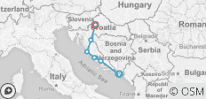 Highlights of Croatia: Multisport - 9 destinations