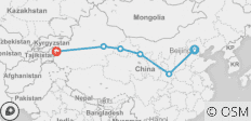 China\'s Silk Road - 6 destinations
