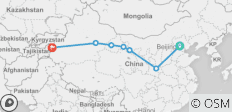China\'s Silk Road - 7 destinations