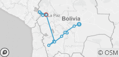 Bolivia Total - 16 destinations