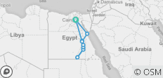 Felucca Explorer & Red Sea - 13 days - 14 destinations