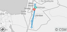 Explore Jordan - 6 destinations