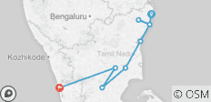 Chennai to Kochi - 9 days - 9 destinations