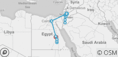Essential Jordan & Egypt - 14 days - 20 destinations