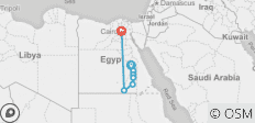 Ancient Egypt 14 nights from London to Luxor and Lake Nasser Cruise  - 7 destinations