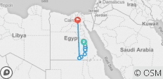 Ancient Egypt & Lake Nasser Cruise - 15 Days - 23 destinations