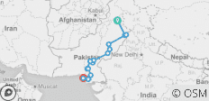 Pakistan - Domes & Deserts Of The Indus - Southbound (17 Days) - 16 destinations