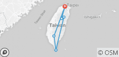 Taiwan Bike Tour - 6 destinations