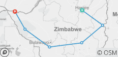 10 days Best of Zimbabwe Tour, Harare to Victoria Falls  - 6 destinations