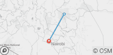 4D/3N Mount Kenya: Sirimon - Naromoru Route - 3 destinations