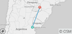 Buenos Aires & Iguazú or Viceversa - 6 days - 5 destinations