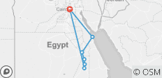 12 Days Cairo, Nile Cruise & Hurghada  - 7 destinations