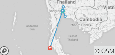 9 Days Best of Thailand & Phuket - 6 destinations